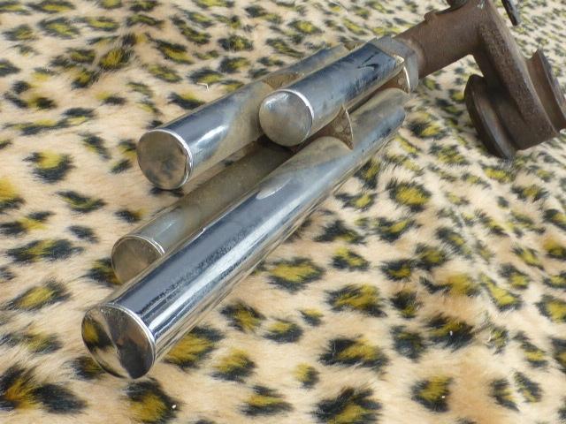 Auto Exhaust Horn Whistle 4パイプ ローライダー KUSTOM BOMB OG バリス HOTROD ホットロッド 旧車 フォード モデルA モデルT シボレー _画像3