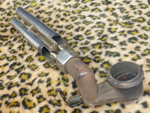 Auto Exhaust Horn Whistle 4パイプ ローライダー KUSTOM BOMB OG バリス HOTROD ホットロッド 旧車 フォード モデルA モデルT シボレー _画像4