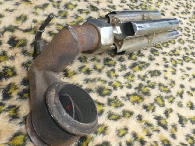 Auto Exhaust Horn Whistle 4パイプ ローライダー KUSTOM BOMB OG バリス HOTROD ホットロッド 旧車 フォード モデルA モデルT シボレー _画像8