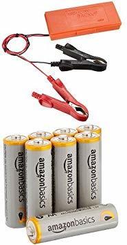 【おすすめセット】エーモン メモリーバックアップ 1686 + Amazonベーシック アルカリ乾電池 単3形 8個パック_画像1