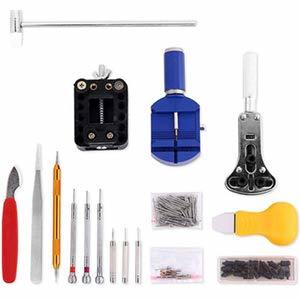SHiZAK 時計修理工具セット 腕時計工具キット 腕時計修理工具セット ウォッチツール 時計工具セット 腕時計ベルト調整 工具_画像3