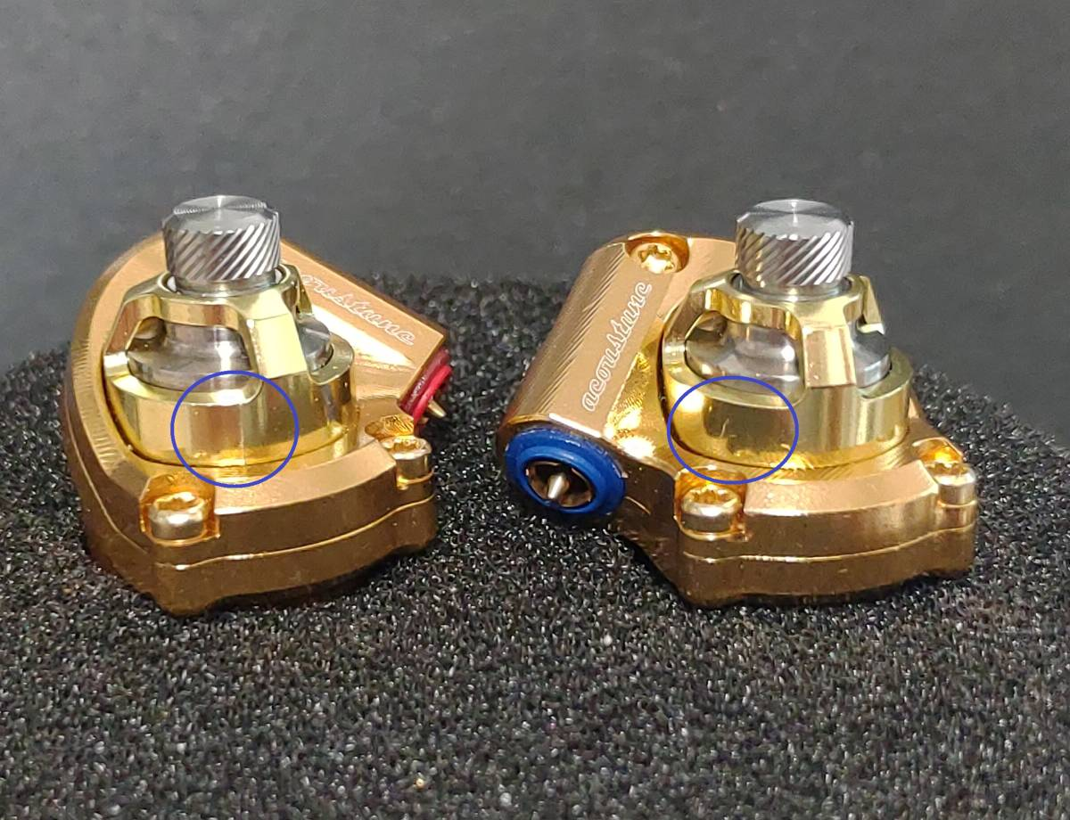 Acoustune HS1695Ti GOLD 140本限定 イヤホン 検) pentaconn sony AK 64 JH campfire noble audio final empire ears AAW FAudio_画像5