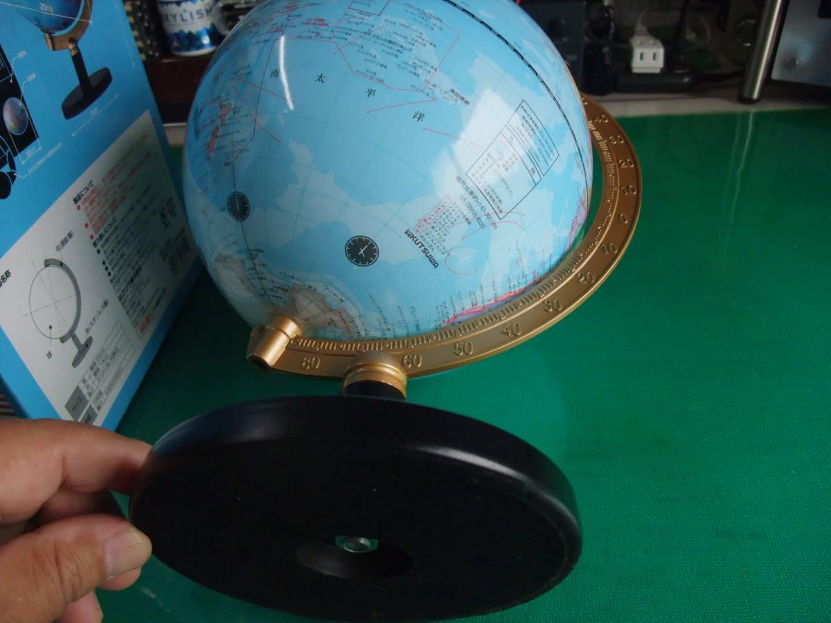 ★☆日本語と英語で読める「日英地球儀」 中古品 20cm球サイズ☆★_画像4