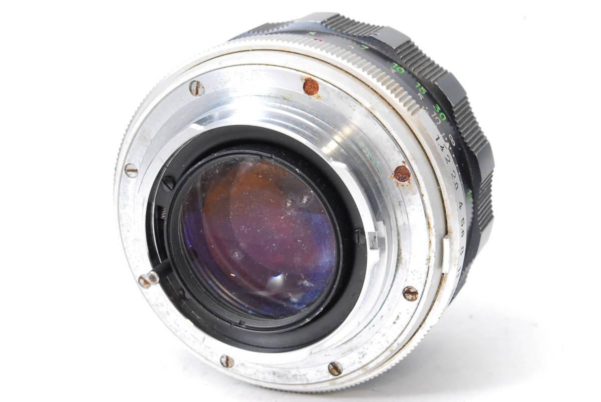 現状扱い ミノルタ MINOLTA MC ROKKOR-PF 58mm F1.4 【5589070】 ♯9139_画像2