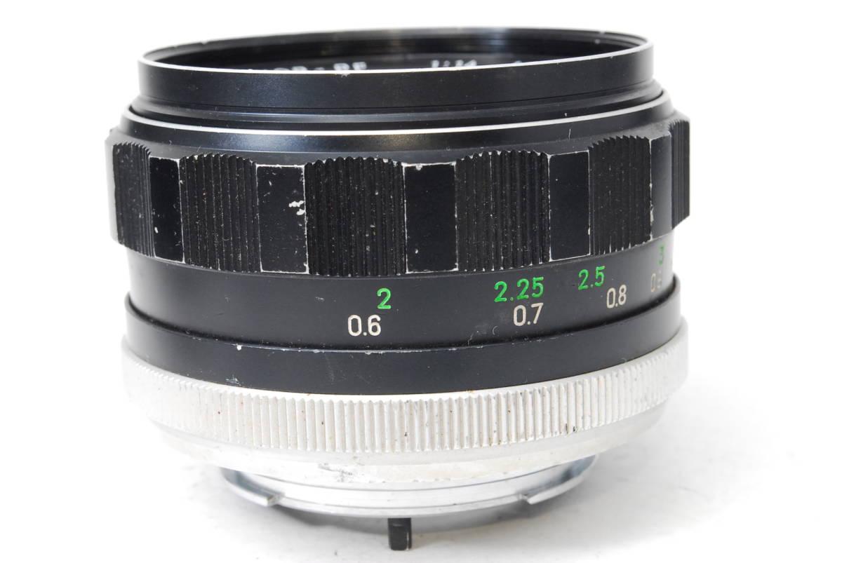 現状扱い ミノルタ MINOLTA MC ROKKOR-PF 58mm F1.4 【5589070】 ♯9139_画像5