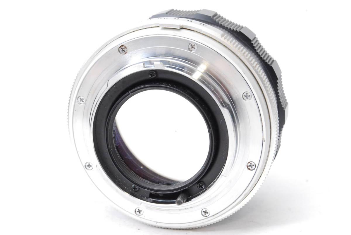訳あり品 ミノルタ MINOLTA MC ROKKOR-PF 58mm F1.4 【5682834】 ♯9145_画像3