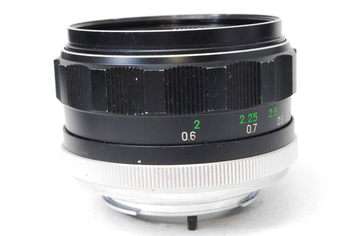 訳あり品 ミノルタ MINOLTA MC ROKKOR-PF 58mm F1.4 【5682834】 ♯9145_画像6