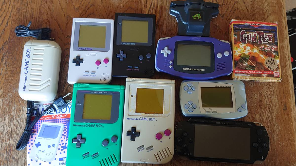 ゲームボーイTM ポケット アドバンス ワンダースワン PSP1000 ジャンク品セット_画像1
