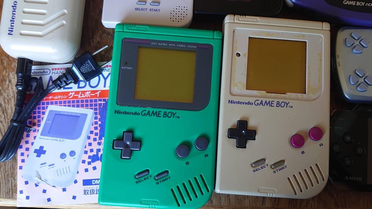 ゲームボーイTM ポケット アドバンス ワンダースワン PSP1000 ジャンク品セット_画像4