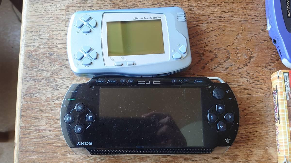ゲームボーイTM ポケット アドバンス ワンダースワン PSP1000 ジャンク品セット_画像5