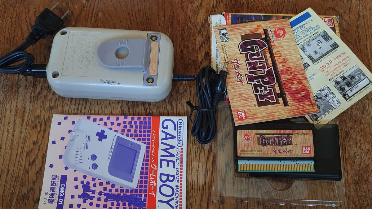 ゲームボーイTM ポケット アドバンス ワンダースワン PSP1000 ジャンク品セット_充電アダプタ- 故障