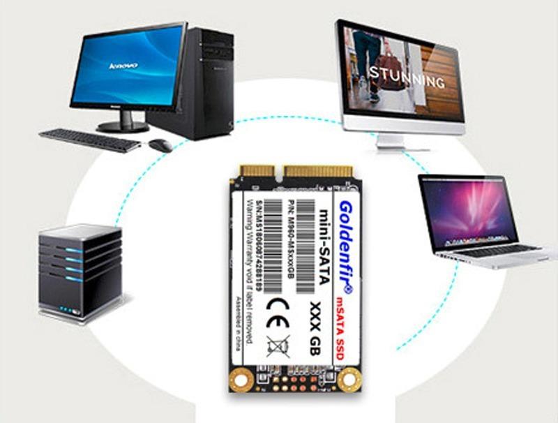 SSD Goldenfir 480GB mSATA 新品 高速 NAND TLC 内蔵 デスクトップPC ノートパソコン_画像6