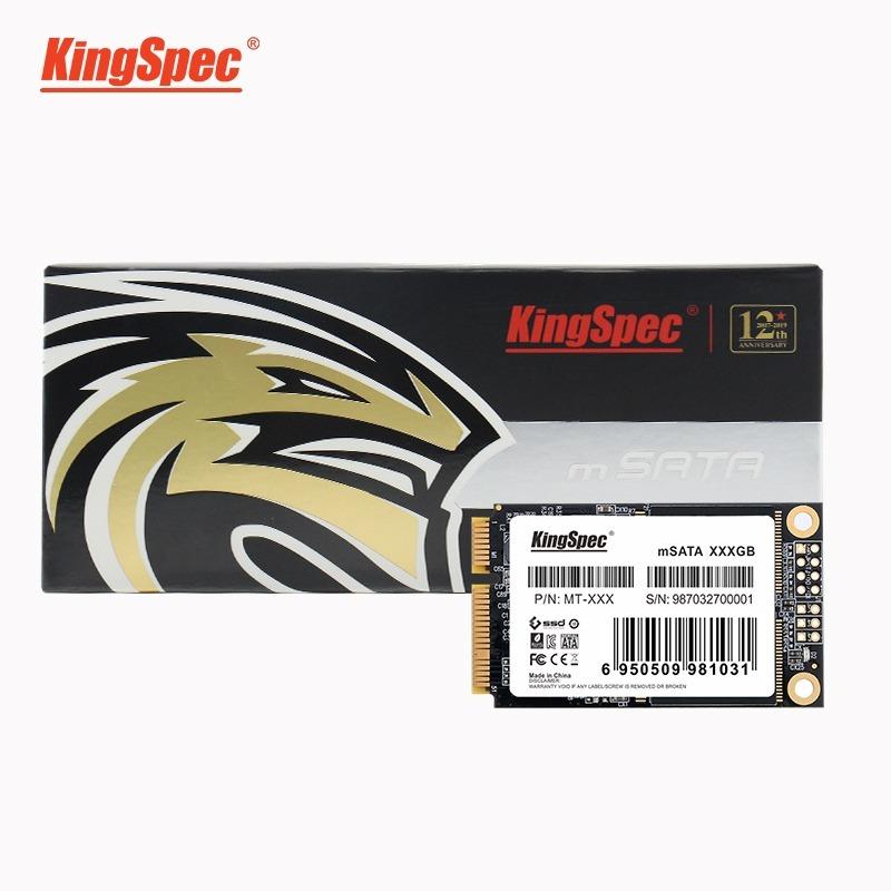 送料無料!KingSpec SSD mSATA 512GB 内蔵型 MT-128 3D 高速 3D NAND TLC デスクトップPC ノートパソコン DE023_画像5