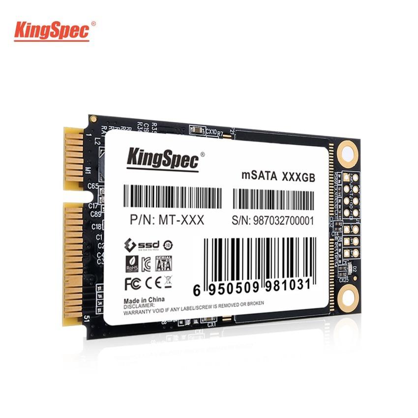 送料無料!KingSpec SSD mSATA 512GB 内蔵型 MT-128 3D 高速 3D NAND TLC デスクトップPC ノートパソコン DE023_画像1