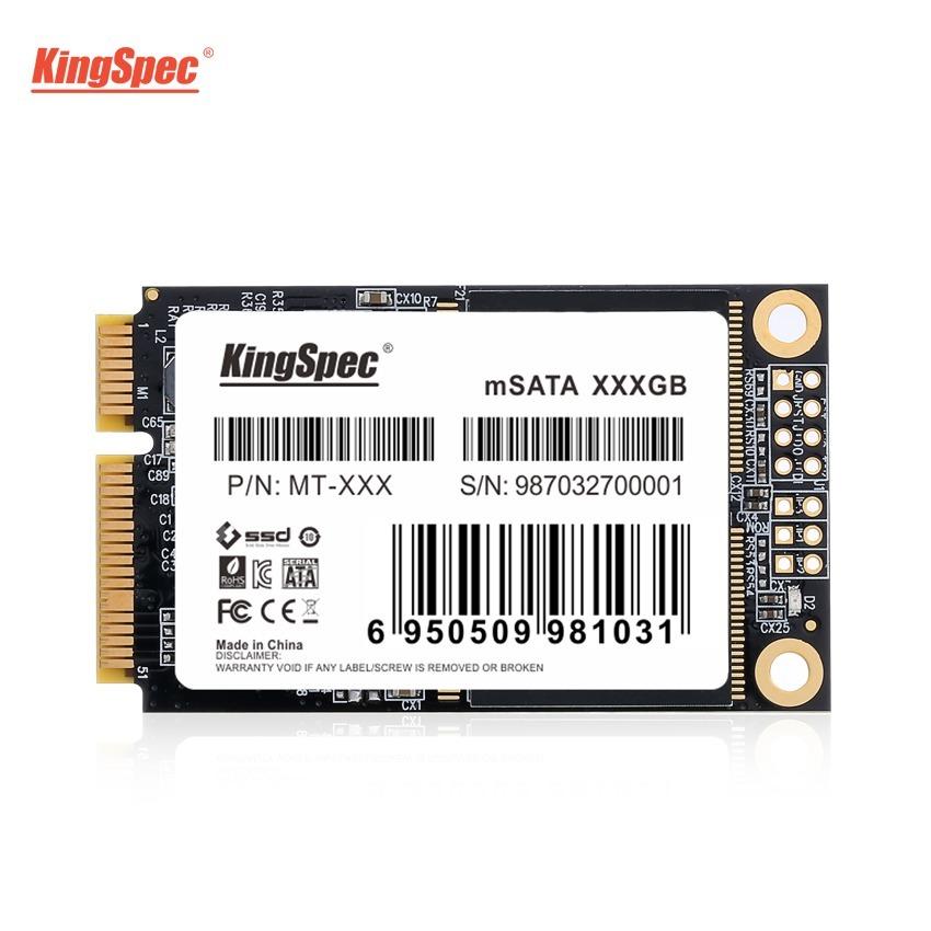 送料無料!KingSpec SSD mSATA 512GB 内蔵型 MT-128 3D 高速 3D NAND TLC デスクトップPC ノートパソコン DE023_画像2
