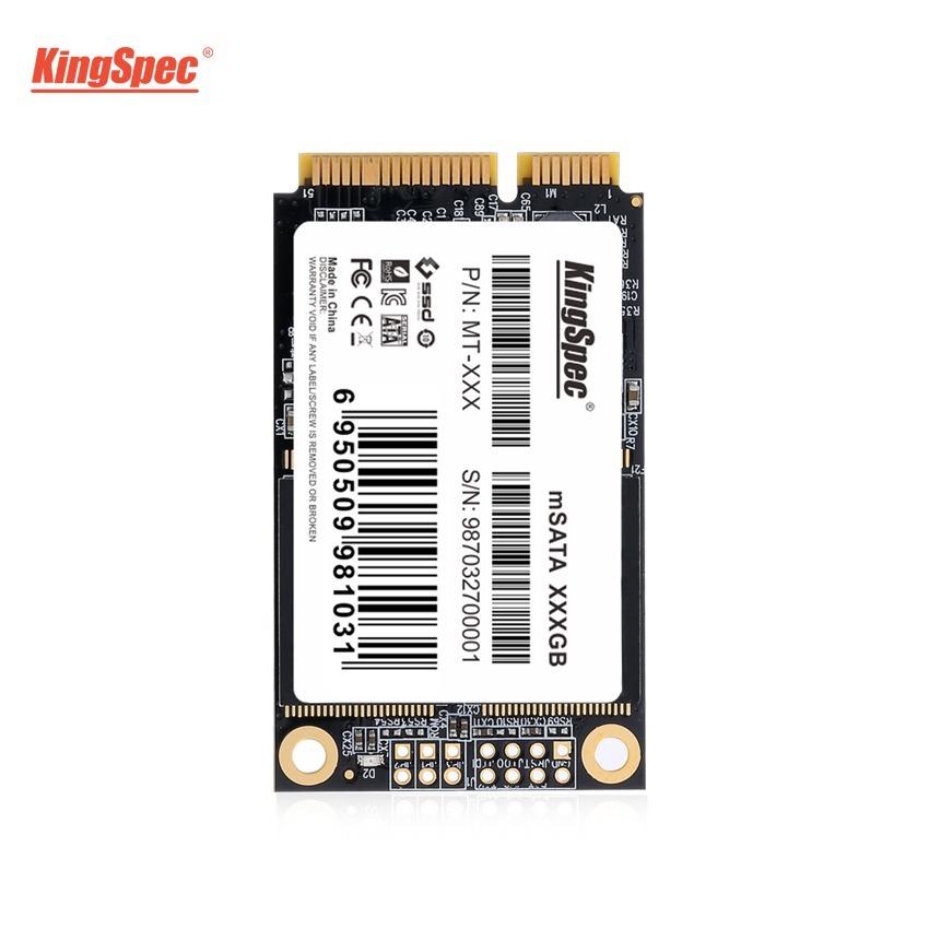 送料無料!KingSpec SSD mSATA 512GB 内蔵型 MT-128 3D 高速 3D NAND TLC デスクトップPC ノートパソコン DE023_画像4