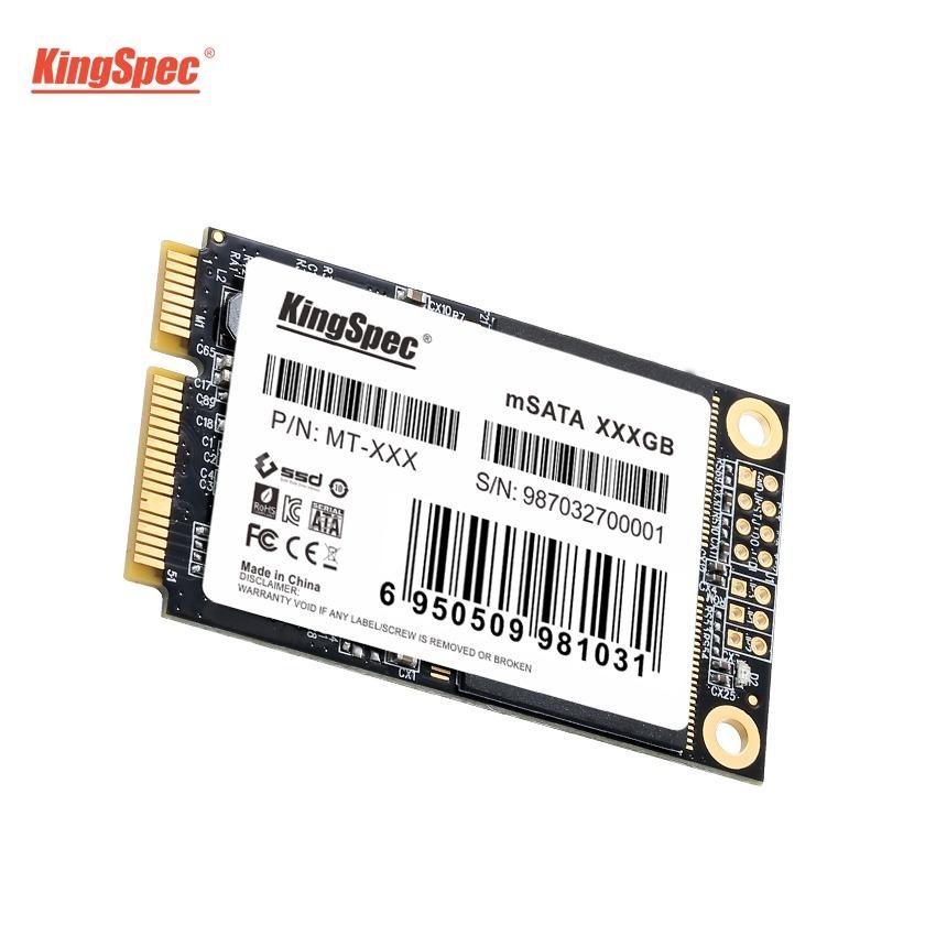 送料無料!KingSpec SSD mSATA 512GB 内蔵型 MT-128 3D 高速 3D NAND TLC デスクトップPC ノートパソコン DE023_画像3