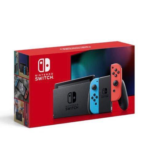 Nintendo Switch Joy-Con(L) ネオンブルー/(R) ネオンレッド 任天堂 スイッチ_画像1
