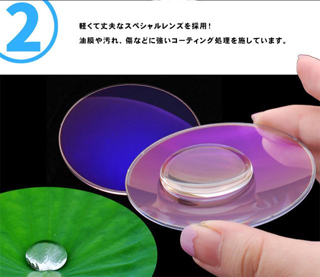 アウトレット リーディンググラス 老眼鏡 黒&紺 +1.0 ブルーライトカット PC スマホ シニアグラス メンズ レディース 軽い おしゃれ_画像8