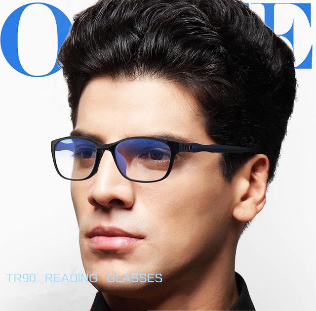 即日発送 新品 老眼鏡 黒 3.0 リーディンググラス シニアグラス ブルーライトカット 軽い PC スマホ メガネ メンズ レディース 男女兼用_画像2