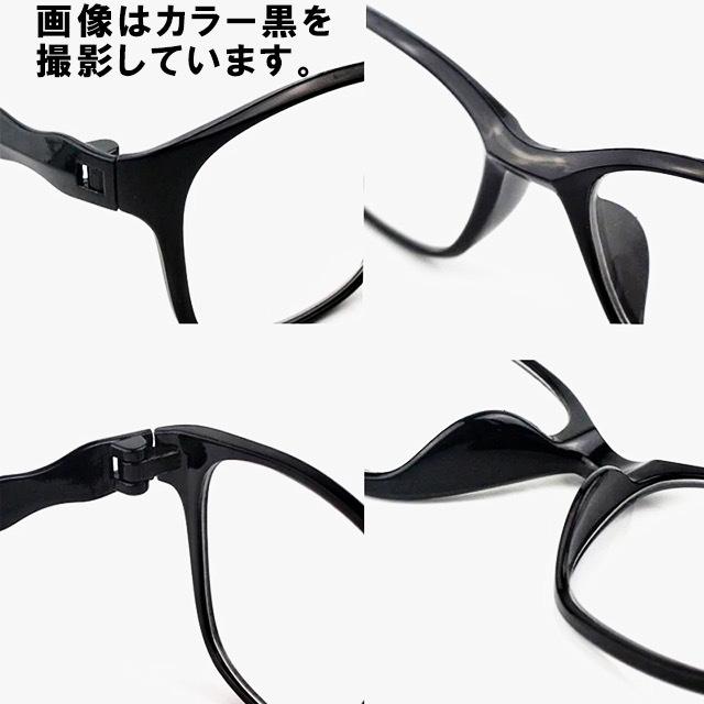 即日発送 新品 老眼鏡 黒 赤 2.0 リーディンググラス シニアグラス ブルーライトカット 軽い PC スマホ メガネ メンズ レディース 男女兼用_画像5