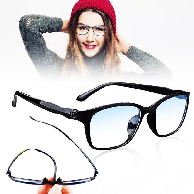 即日発送 新品 老眼鏡 黒 紺 1.0 リーディンググラス シニアグラス ブルーライトカット 軽い PC スマホ メガネ メンズ レディース 男女兼用_画像3