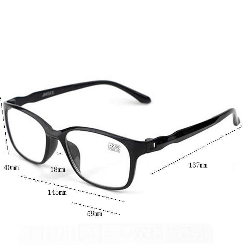 即日発送 新品 老眼鏡 黒 3.0 リーディンググラス シニアグラス ブルーライトカット 軽い PC スマホ メガネ メンズ レディース 男女兼用_画像6