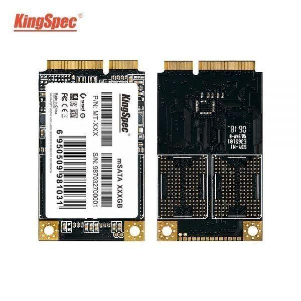 ★最安値!!安心の国内対応★KingSpec SSD mSATA 128GB 内蔵型 MT-128 3D 高速 3D NAND TLC デスクトップPC ノートパソコン DE021_画像3
