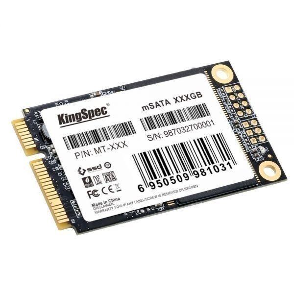 ★最安値!!安心の国内対応★KingSpec SSD mSATA 128GB 内蔵型 MT-128 3D 高速 3D NAND TLC デスクトップPC ノートパソコン DE021_画像2