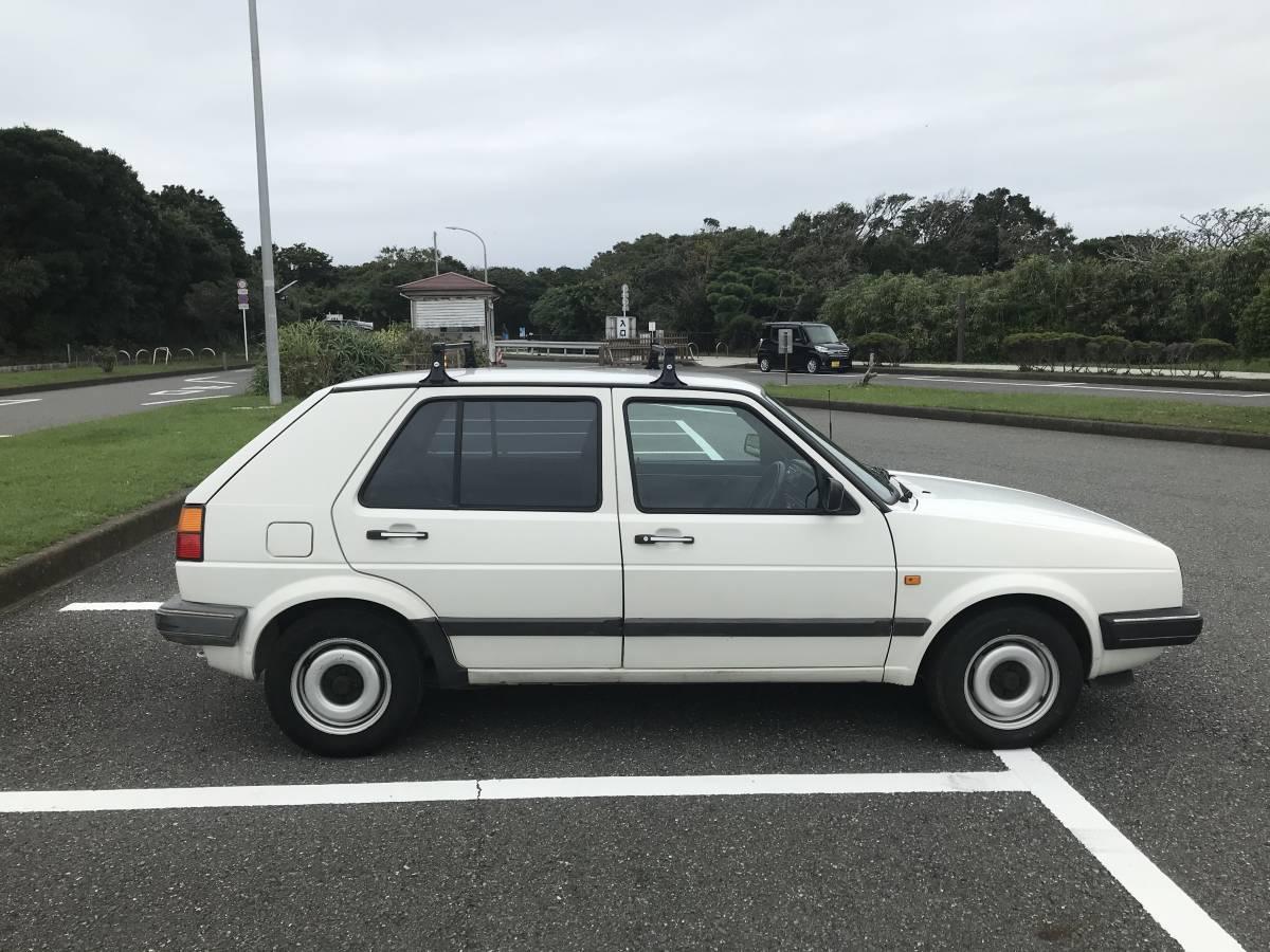 「個人出品、ゴルフ2 、記録簿多数、車検ほぼ満タン、すぐ乗れます、やっぱり白、楽しい車、売り切ります、」の画像3