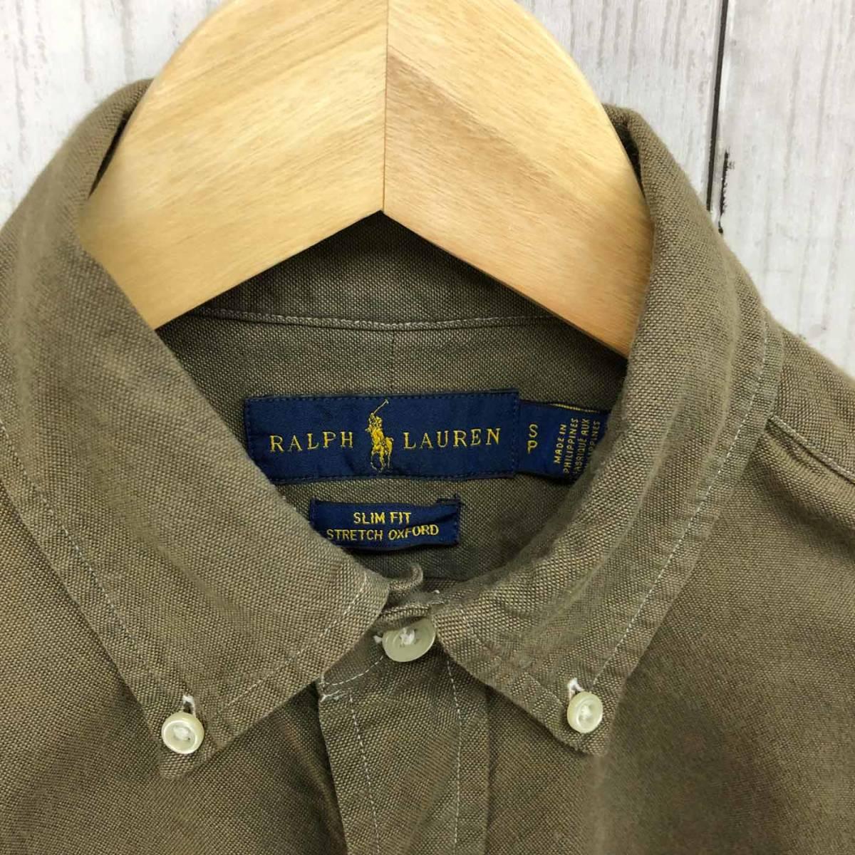 ラルフローレン POLO Ralph Lauren Polo 長袖シャツ メンズ ワンポイント SPサイズ 4-1