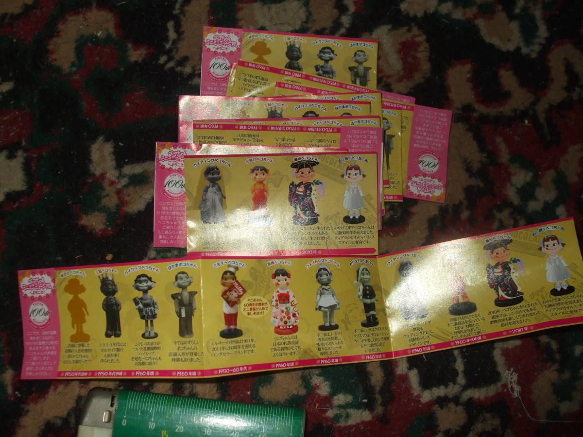 ☆【 不二家 】 ペコちゃん ミニミニ ミュージアム 首ふり人形 全12種 フルコンプ ケース入り  です。_画像10