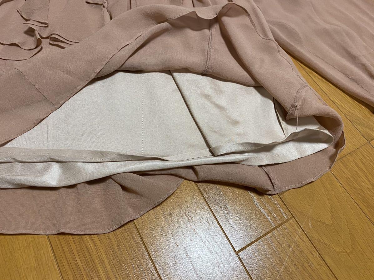 美品★★グレースコンチネンタル  シルク シフォン♪フリルカットソー★サイズ36 3万_こちらが1番近い色です