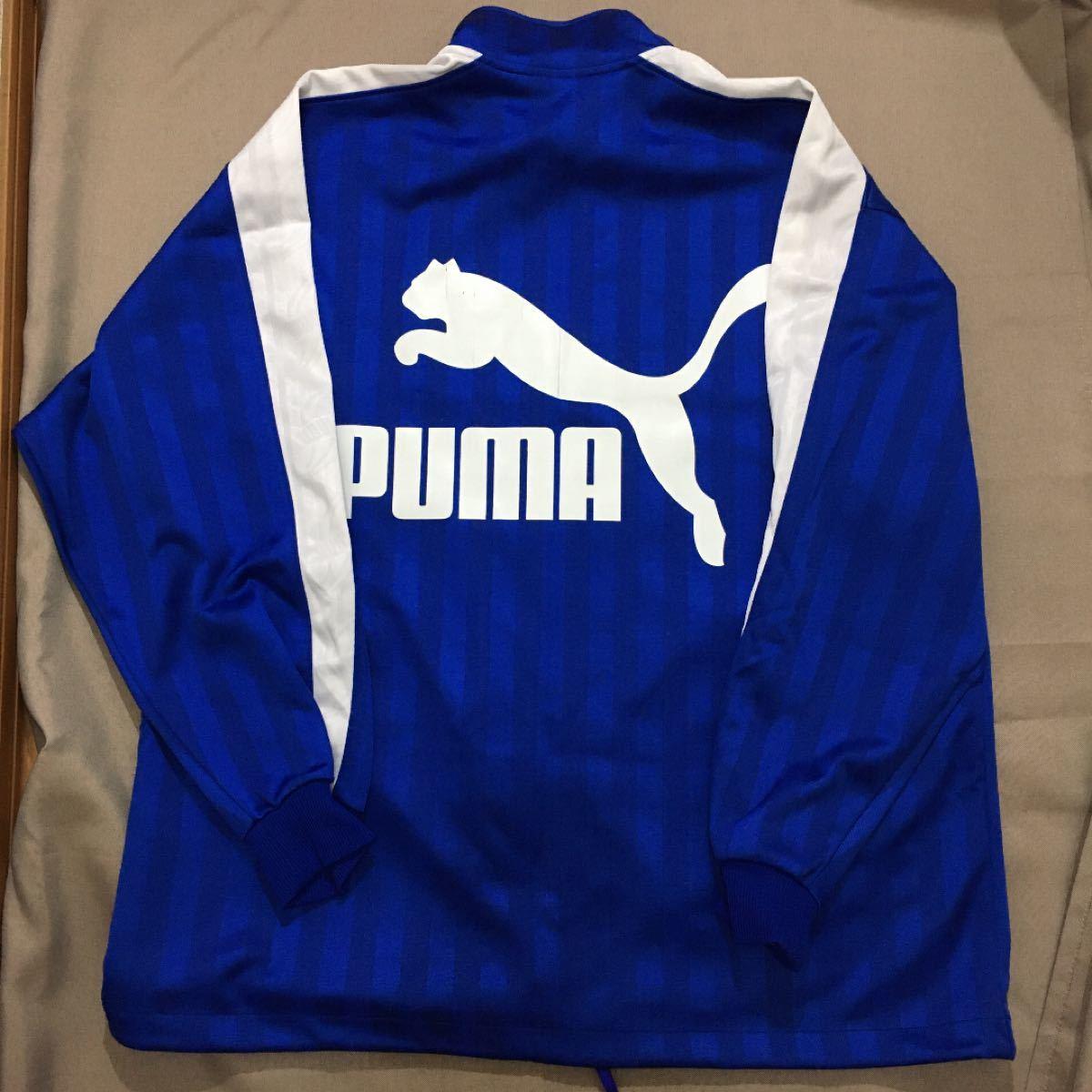 PUMA プーマ ジャージ 上下セット メンズL〜Oサイズ ブルー×ホワイト