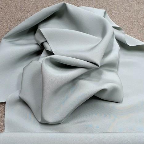 生地 正絹 シルク うぐいす色 はぎれ ハギレ リメイク