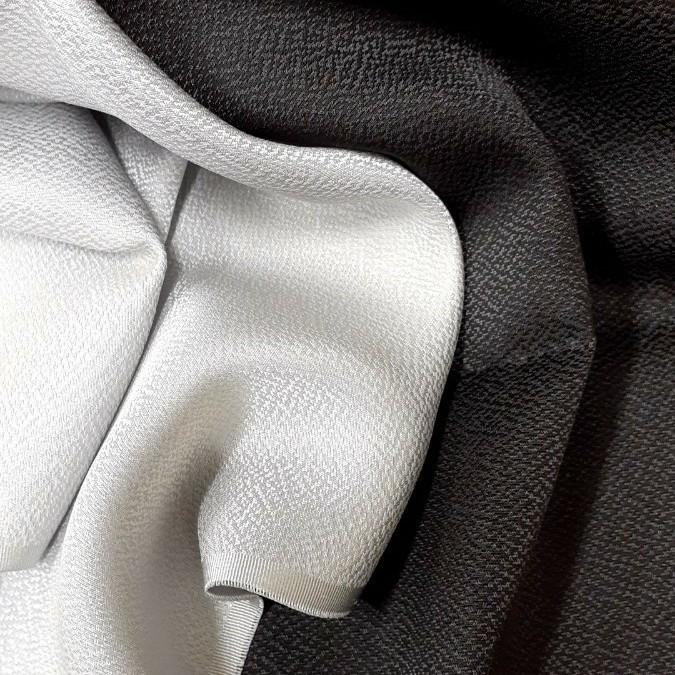 生地 正絹 シルク 薄手 柄入り 2枚 はぎれ ハギレ リメイク