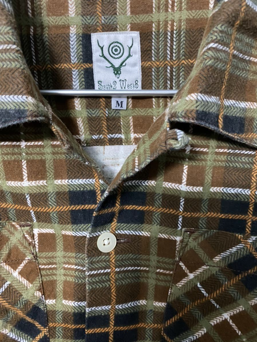 south2west8 S2W8 flannel 6 pockets classic shirt & flannel strings short セットアップ_画像5