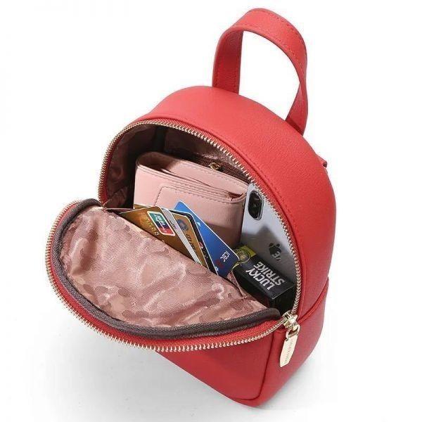【最安値&追跡可】レディースショルダーバッグ 3WAY 女性用リュック ハンドバッグ 通勤 カバン 通学 スクールバッグ かばん 学生_画像6