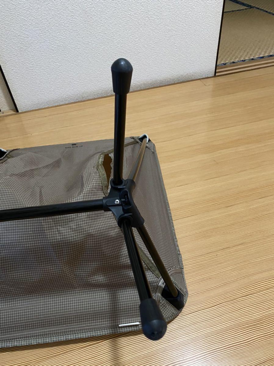 ヘリノックス Helinox チェアゼロ chair zero 美品 カラー SD コンパクトチェア 折りたたみチェア