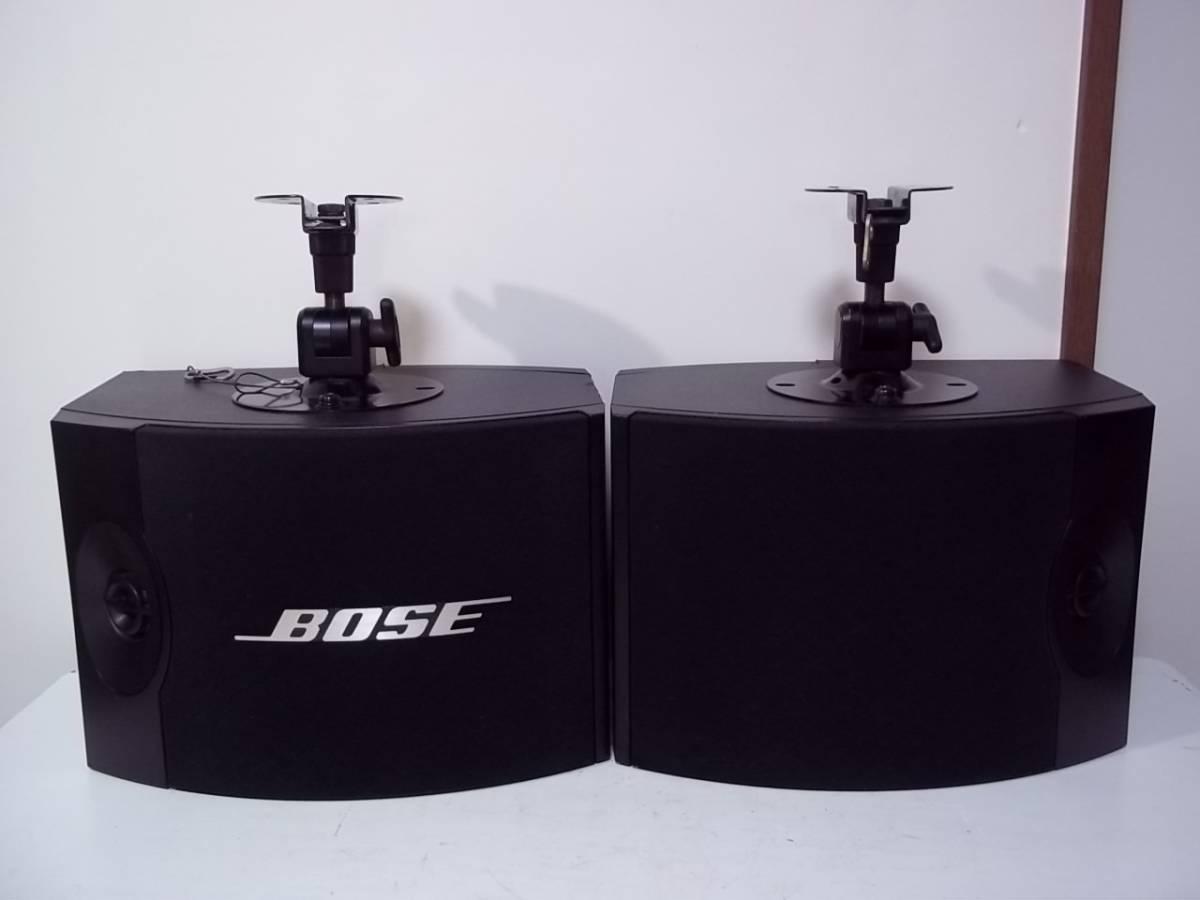 BOSE ボーズ/301V スピーカー ペア/ブラケット 天吊り金具/USED