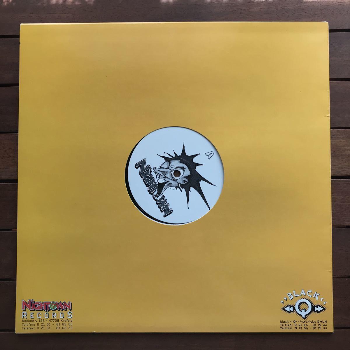 ●【eu-rap】Flip Da Scrip / Everybody Funk Now[12inch]オリジナル盤《4-1-4》promo nightown レーベル