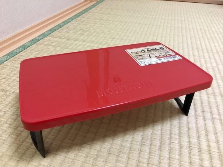 折り畳み式 ミニミニテーブル 新品 アウトドア レジャー 折りたたみ 外出 携帯