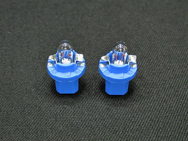 ベンツ OSRAM社 12V 1.2W ブルーソケットL メーターバルブ 2個セット(N000000000953) BENZ W168/W201/W202/W210/W140/W463/R129等_各部詳細の写真です
