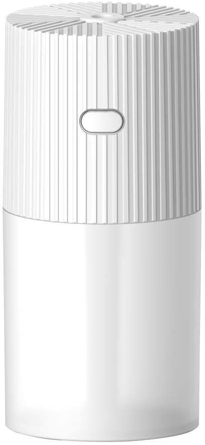 卓上加湿器 300ml アロマ加湿器超音波加湿器 除菌 USB給電 虹色LED_画像1