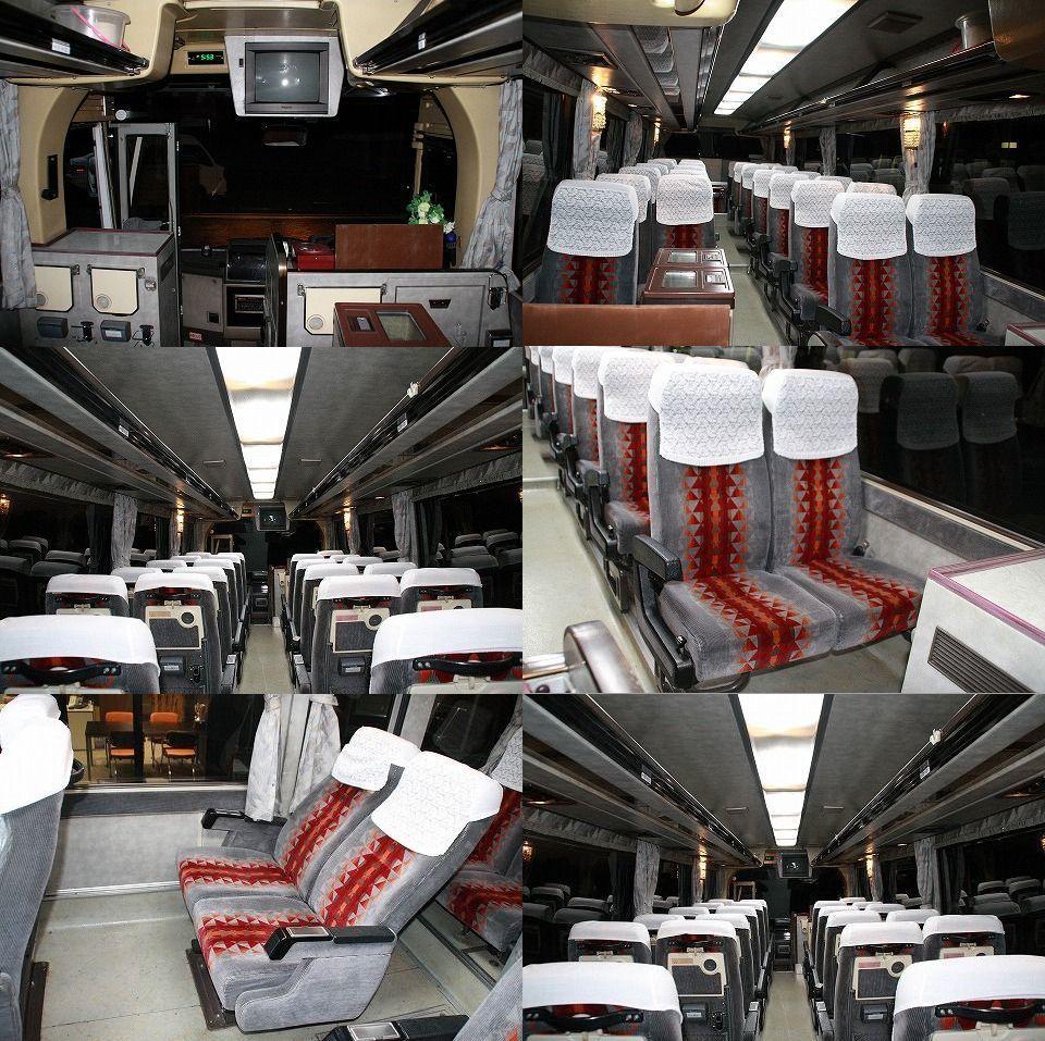 三菱 エアロミディ 29人 6速MT 軽油ICターボ サブエンジン搭載 482000km 中型8t限定解除の免許があれば乗れます!_画像10