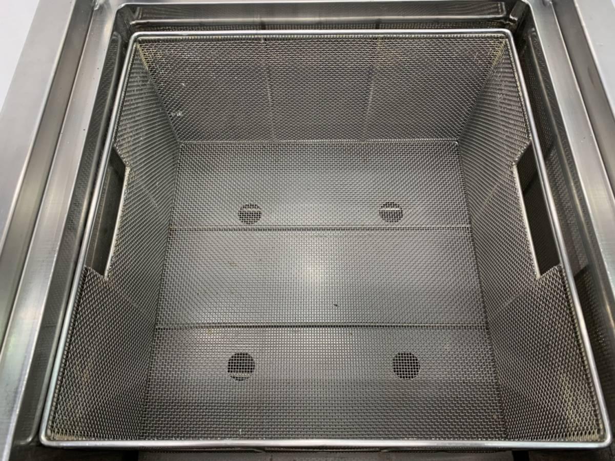 ニチワ/NICHIWA 業務用  卓上型 電気ゆで麺機 4テボ用 三相200V 店舗 厨房 ENB-450H_画像8