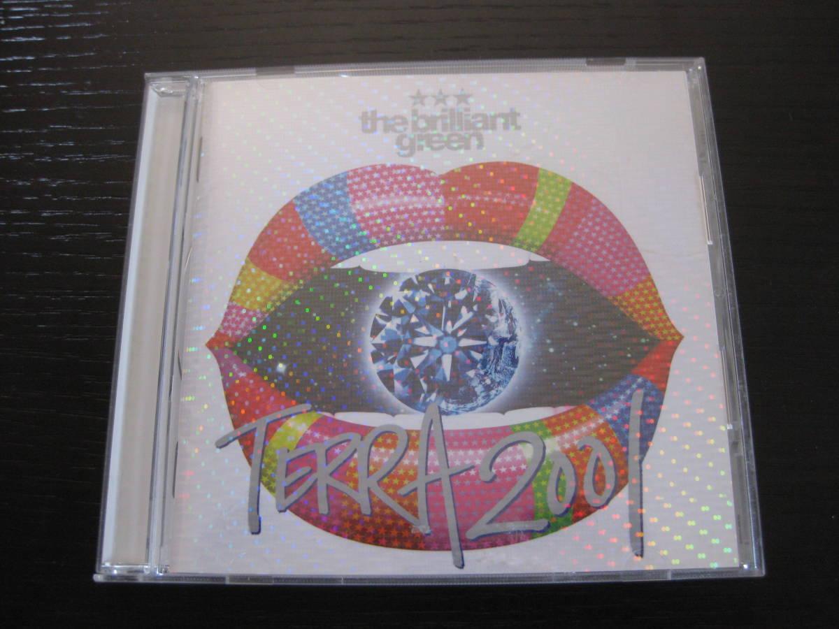 CD the brilliant green TERRA2001 ザ・ブリリアント・グリーン_画像1