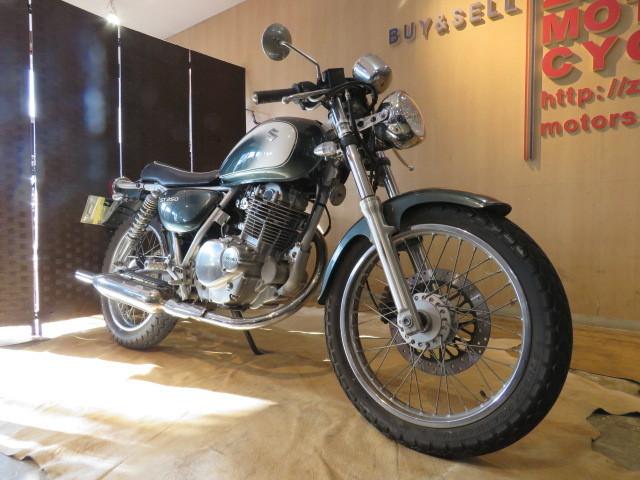 □SUZUKI ST250 NJ4CA スズキ 250cc 11007km グリーン 自賠R3.6 実動! バイク 札幌発_画像3