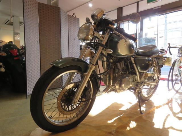 □SUZUKI ST250 NJ4CA スズキ 250cc 11007km グリーン 自賠R3.6 実動! バイク 札幌発_画像4