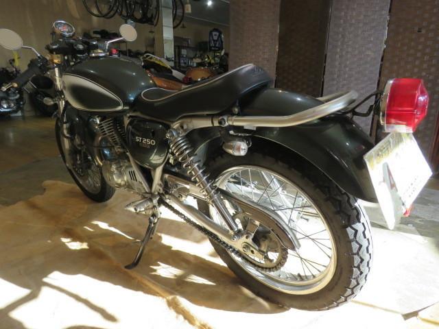 □SUZUKI ST250 NJ4CA スズキ 250cc 11007km グリーン 自賠R3.6 実動! バイク 札幌発_画像5